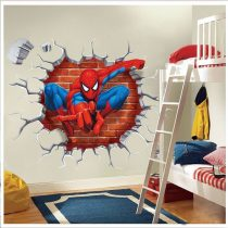 "Seinakleebis ""Spiderman"""