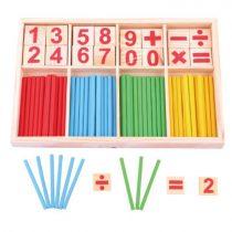 Matemaatiline mäng pulkade ja numbritega