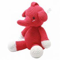 """NatureZOO muusikaga mänguloom """"Punane elevant"""""""