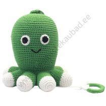 """NatureZOO muusikaga mänguloom """"Roheline kaheksajalg"""""""