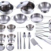 25-osaline laste kööginõude komplekt