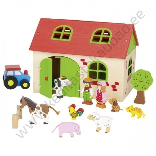 """Goki puidust komplekt """"Minu väike farm"""""""