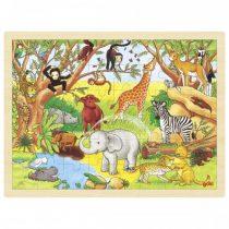 """Goki puidust pusle """"Aafrika loomad"""""""