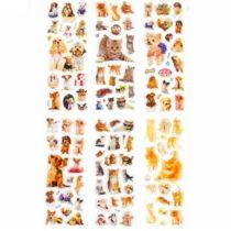 """Kleepsukomplektid """"6tk pakis"""" – Kassid & Koerad"""