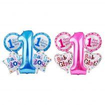 """Õhupallide komplekt """"Esimene sünnipäev"""""""