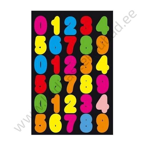 """Kleepsud """"Värvilised numbrid"""""""