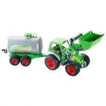 Wader traktor laaduri ja paagiga