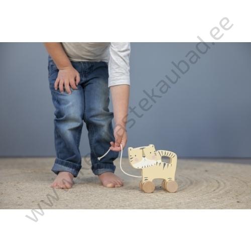 4451 Little Dutch wooden pull along animal – BEWERKT 2