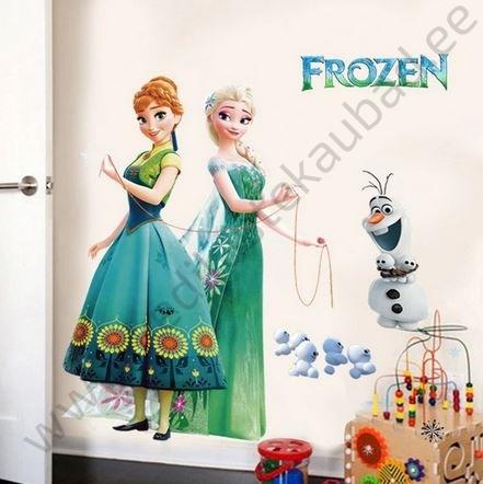 """Seinakleebis """"Elsa ja Anna"""""""