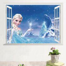 "Seinakleebis ""Elsa aknal"""