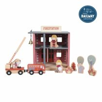 Little Dutch puidust tuletõrjejaam (rongirajaga ühilduv)