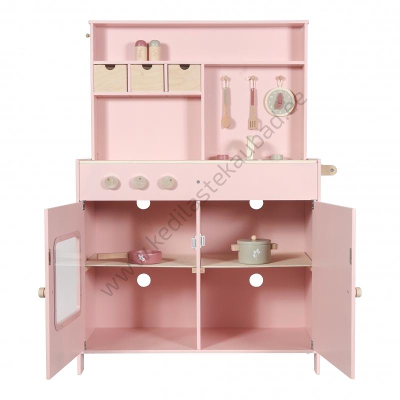 LD4486 little-dutch-roosa-mänguköök-köök-4