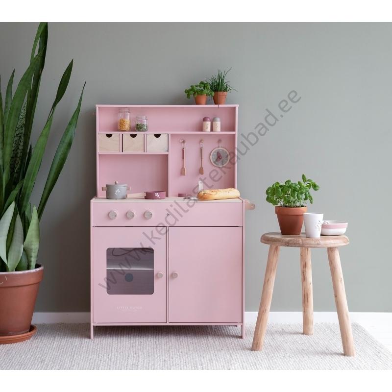 LD4486 little-dutch-roosa-mänguköök-köök-8
