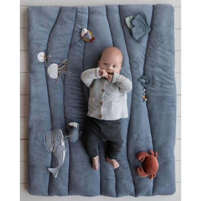 4840 Little Dutch pehme tegelusmatt – pehme mängumatt Ocean Blue-7