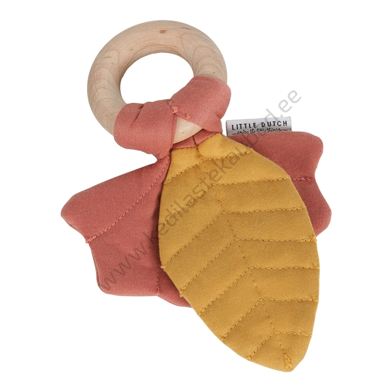 LD 4903 Krabisev rõngaga leheke mänguasi Little Dutch Pure & Nature beebidele-2