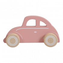 "Little Dutch puidust auto-põrnikas ""Pink"""
