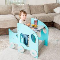 """Laste laua ja tooli komplekt """"Auto"""" (värvivalik)"""