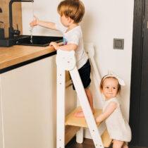 Kokkuklapitav laste köögitorn (värvivalik)