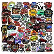 """Kleepsud """"USA retro autode ikoonid"""""""