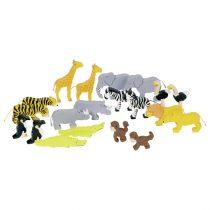 """Goki Puidust loomad """"Aafrika"""""""