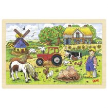 """Goki puidust pusle """"Mr Millersi farm"""""""